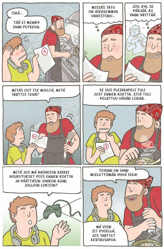 Kysyminen lapselta kannattaa