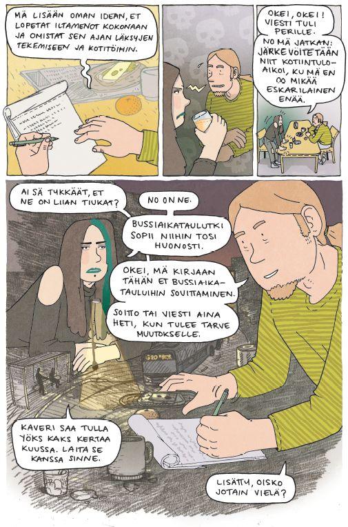 Samppa ja Venla ideoivat ratkaisua